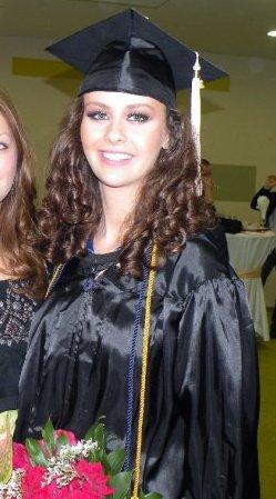 Ela Misut on her graduation day. Photograph courtesy of Ela Misut.