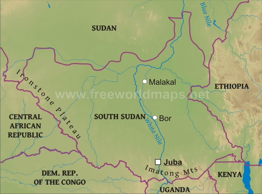 a poverty profile for the southern states of sudan image